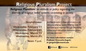 Religious Pluralism: an attitude or policy regarding the diversity of religious belief systems co-existing in society.