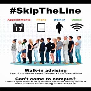 #SkipTheLine