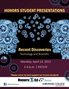 Honors Student Presentations