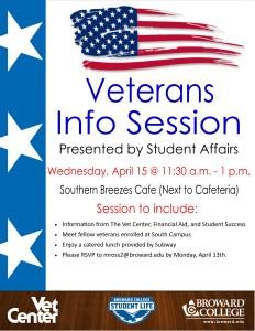 Veterans Info Session