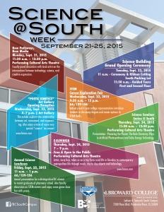 Science@South Week Sept 21-25