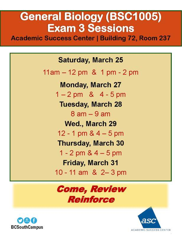 bsc1005exam3reviewsessionsmarch2017