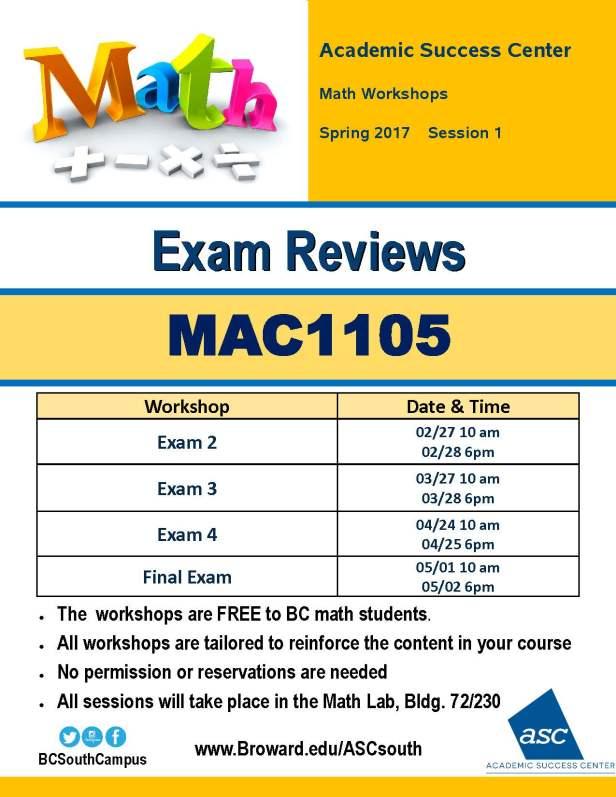 mac1105-spring-2017