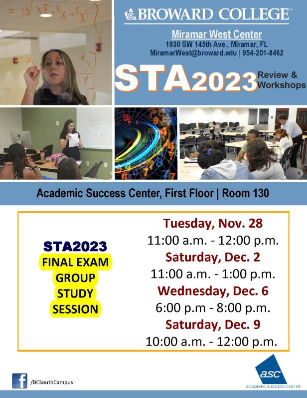 STA2023_FINAL GROUP STUDY SESSION_MWC_ _NOV 28-DEC2-6-9