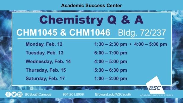 Chemistry_QA_Flyer_CHM1045_1046