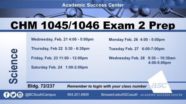 Exam 2 CHM1032 PREPS2