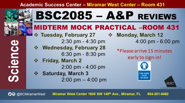 MWC_ BSC2085L_ALL_MIDTERM MOCK PRACTICAL___FEB 27-28 MAR 2-3-12