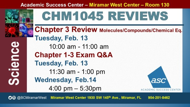 MWC_ CHM1045_all_EXAM REVIEW CH 1-3 BROCHURE___FEB 13-14_SLIDE