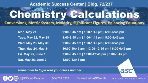 21MayChemistry Calculations Flyer- Summer 2018[1]