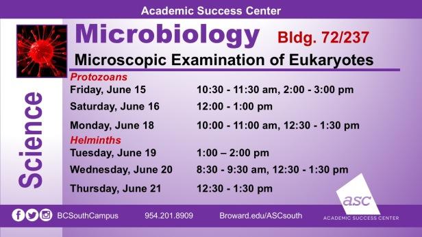 MicroBiology_Eukaryotes_2018
