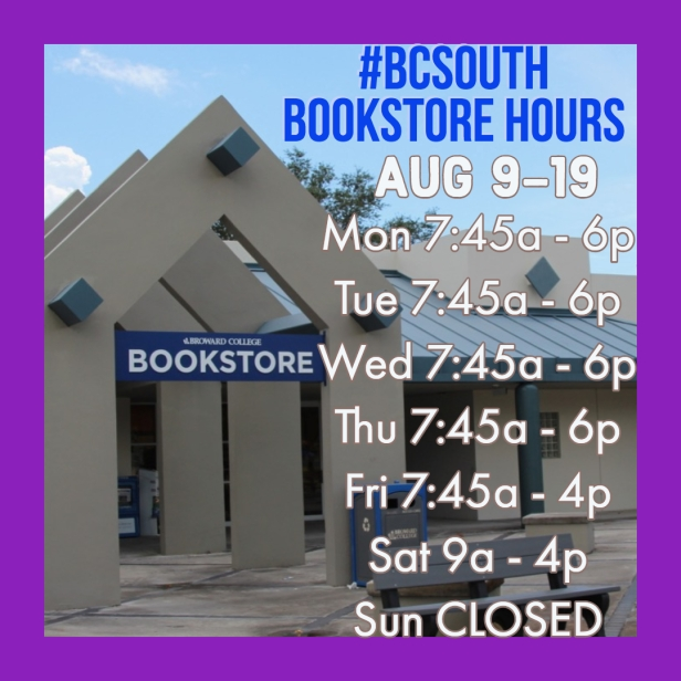 Bookstore Hours 3
