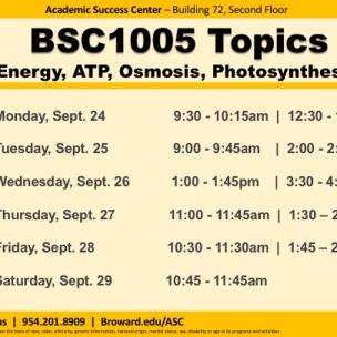 BSC1005 Fall20191_ W6