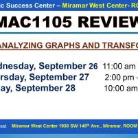MAC1105_EXAM REVIEW_MWC_ SEP 26-27-28_SLIDE