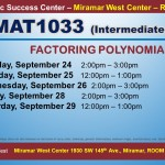 MAT1033_GROUP STUDY SESSION_MWC_ SEP 24-25-26-28-29 SLIDE