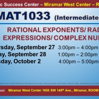 MAT1033_GROUP STUDY SESSION_MWC_ SEP 27-28-OCT 2 SLIDE