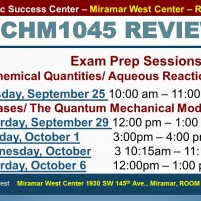 MWC_ CHM1045_all_REVIEW EXAM 1 BROCHURE___SEP 25-29-OCT 1-3-6_SLIDE