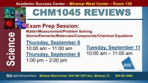 MWC_ CHM1045_all_REVIEW EXAM 1 BROCHURE___SEP 6-8-11_SLIDE