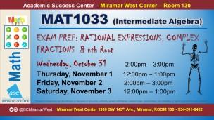 MAT1033_GROUP STUDY SESSION_MWC_ OCT 31 NOV 1-2-3 SLIDE