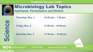 MicroBiology_Lab Topics_2018