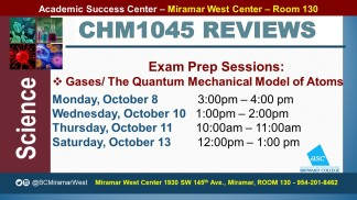 MWC_ CHM1045_all_REVIEW EXAM 1 BROCHURE___OCT 8-10-11-13_SLIDE