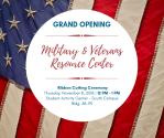 8Nov-MilitaryVeterans Resource Center - Grand Opening