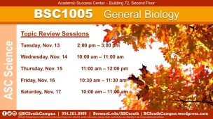 BSC1005 Fall20191W13_revised