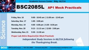 BSC2085L_Final Mocks_Nov
