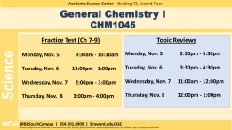 CHM1045 W12 Exam 3 & Topic Review