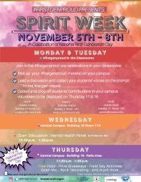 Faculty_FirstGen Spirit week