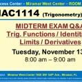 MAC1114_GROUP STUDY SESSION_MWC_ NOV 13_SLIDE