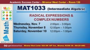 MAT1033_GROUP STUDY SESSION_MWC_ NOV 7-8-10 SLIDE