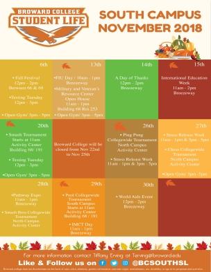 Nov-SL Calendar